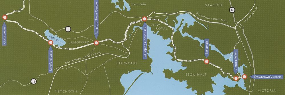 E and N Rail Trail Complete